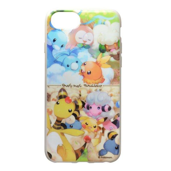 Photo1: Pokemon Center 2018 MOFU-MOFU PARADISE Altaria Soft jacket for iPhone 8/7/6s/6 case (1)