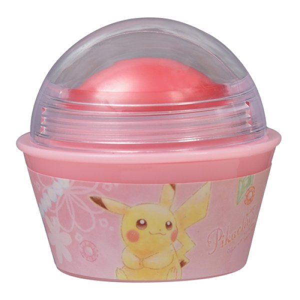Photo1: Pokemon Center 2018 Pikachu & Eevee Cosmetics series Lip color Pikachu (1)