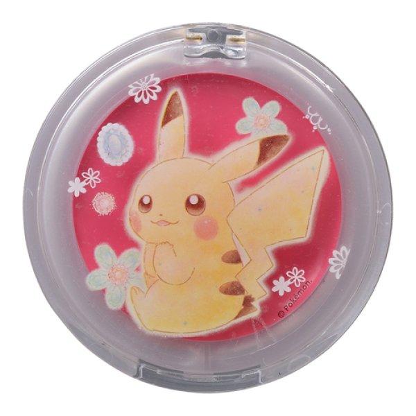 Photo1: Pokemon Center 2018 Pikachu & Eevee Cosmetics series Blush & Lip Balm Pikachu (1)