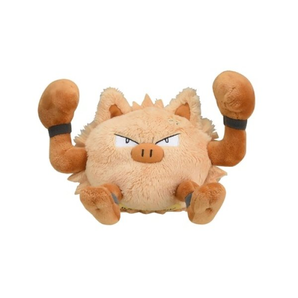 Photo1: Pokemon Center 2018 Pokemon fit Mini Plush #57 Primeape doll Toy (1)