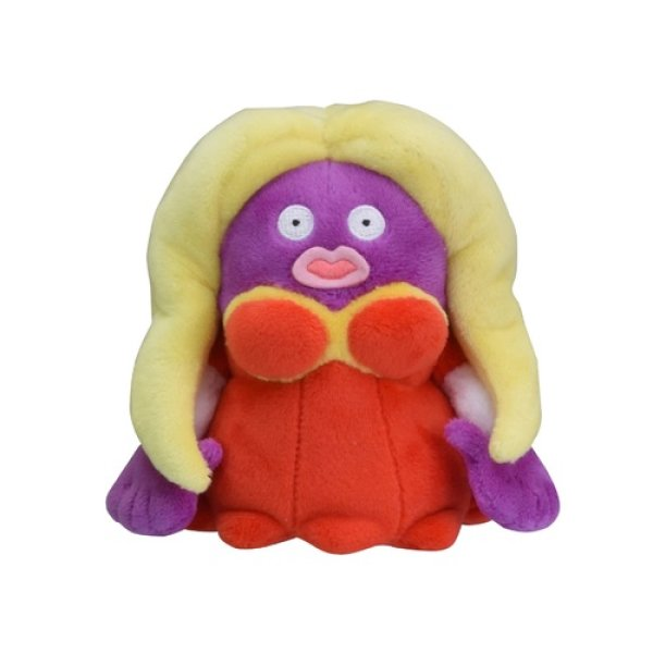 Photo1: Pokemon Center 2018 Pokemon fit Mini Plush #124 Jynx doll Toy (1)