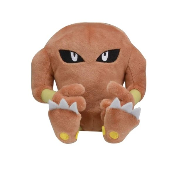 Photo1: Pokemon Center 2018 Pokemon fit Mini Plush #106 Hitmonlee doll Toy (1)