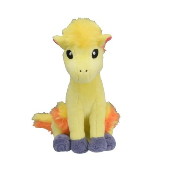 Photo1: Pokemon Center 2018 Pokemon fit Mini Plush #77 Ponyta doll Toy (1)