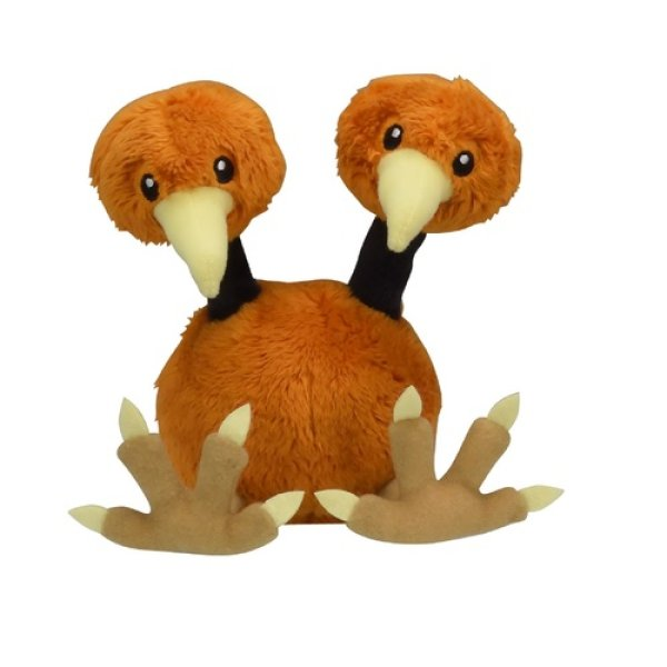 Photo1: Pokemon Center 2018 Pokemon fit Mini Plush #84 Doduo doll Toy (1)