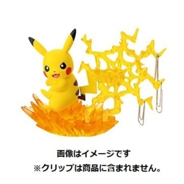 Photo1: Pokemon Desk de Oyakudachi Figure vol.3 #1 Pikachu Electroweb Clip holder (1)