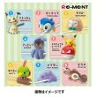 Photo5: Pokemon 2018 Tsunagete Pokemon CORD KEEPER! vol.2 #2 Piplup Mini Figure (5)