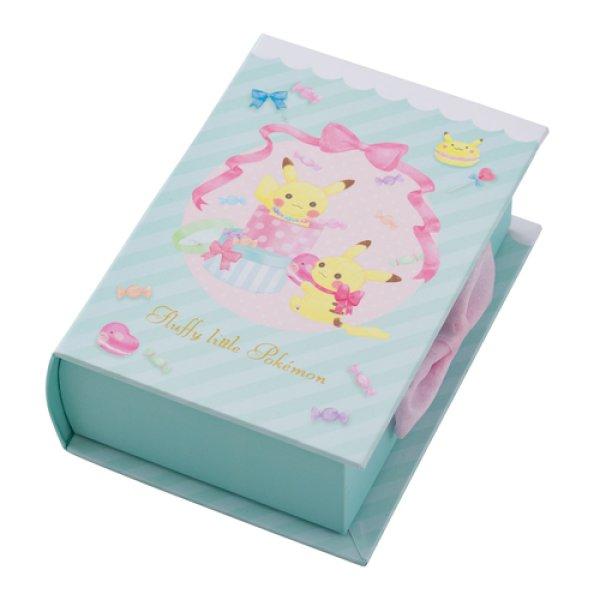 Photo1: Pokemon Center 2019 fluffy little pokemon Book Shaped Memo Pad Notepad (1)
