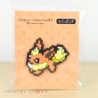 Photo2: Pokemon Center 2019 Eevee DOT COLLECTION Rubber Pins Flareon pin badge (2)