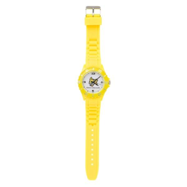 Photo1: Pokemon Center 2019 Eevee DOT COLLECTION Wristwatch Jolteon (1)