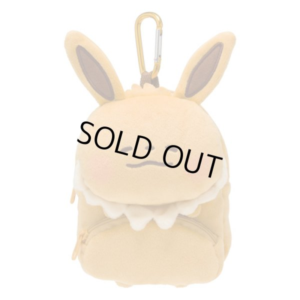 Photo1: Pokemon Center 2018 Pokemon Yurutto Plush Mini Backpack pouch Eevee (1)