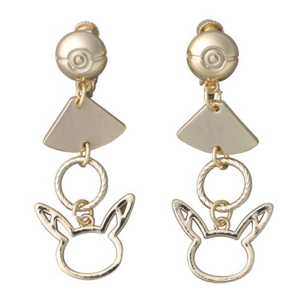 Photo1: Pokemon Center 2018 Pokemon accessory Series Clips Earrings E1 (1)