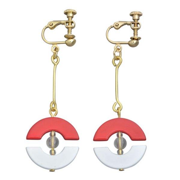 Photo1: Pokemon Center 2018 Pokemon accessory Series Clips Earrings E14 (1)
