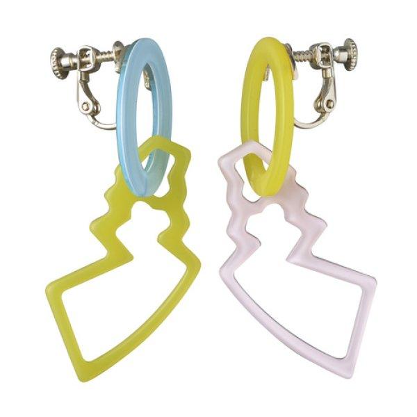 Photo1: Pokemon Center 2018 Pokemon accessory Series Clips Earrings E9 (1)