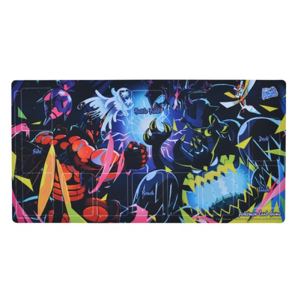 Photo1: Pokemon Center Original Card Game Rubber play mat UB ULTRA GRAPHIX Main Art (1)
