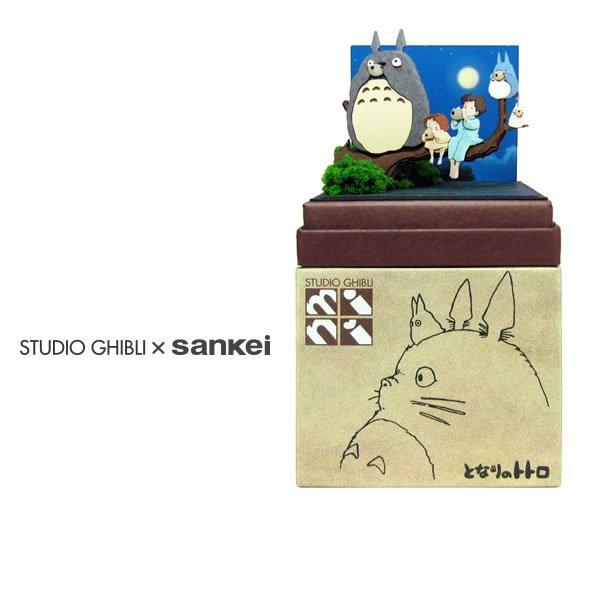 "Photo1: Studio Ghibli mini Paper Craft Kit My Neighbor Totoro 89 ""Tone of ocarina"" (1)"