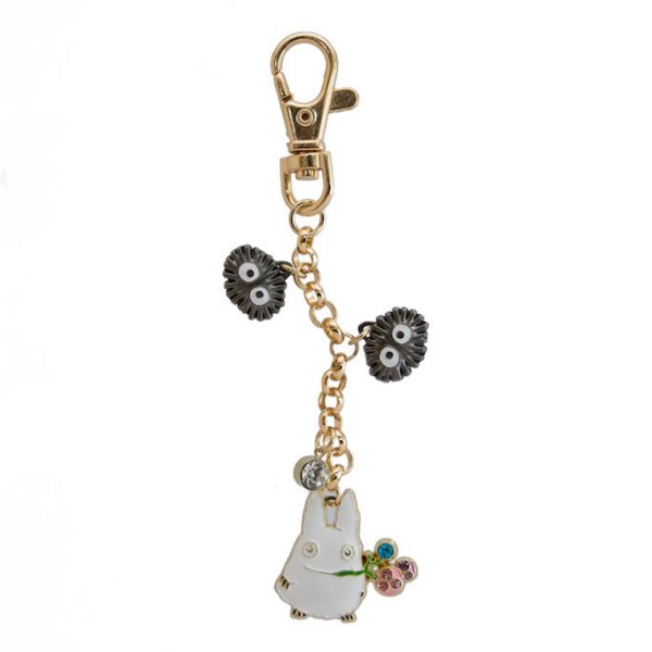 Photo1: Studio Ghibli My Neighbor Totoro Metal charm Key chain Sho Totoro Seed (1)
