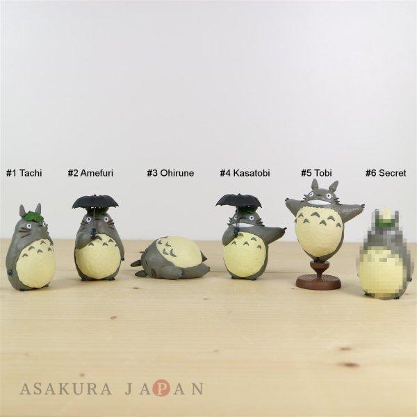 Photo1: Studio Ghibli My Neighbor Totoro Figure Collection Totoro Complete Set (1)