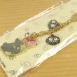 Photo3: Studio Ghibli My Neighbor Totoro Metal charm Key chain Dai Totoro Flower (3)