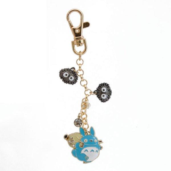Photo1: Studio Ghibli My Neighbor Totoro Metal charm Key chain Chu Totoro Acorn (1)