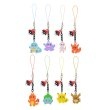 Photo2: Pokemon Center 2018 Dot Pixel Figure Charm Strap Collection Charmander (2)