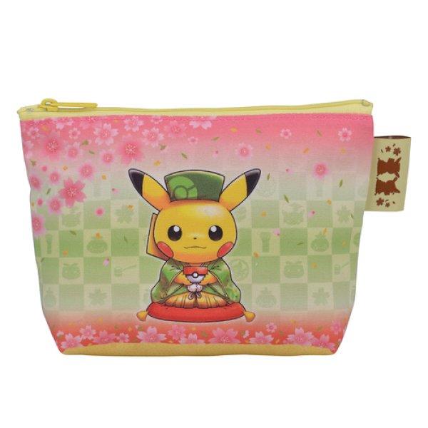 Photo1: Pokemon Center Kyoto 2019 Renewal Open Pouch case (1)