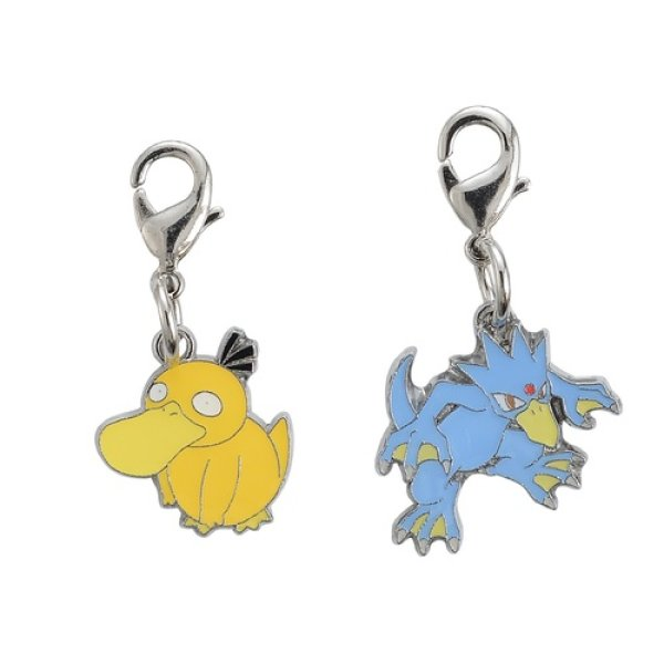 Photo1: Pokemon Center 2018 #My151 Metal Charm # 054 055 Psyduck Golduck (1)