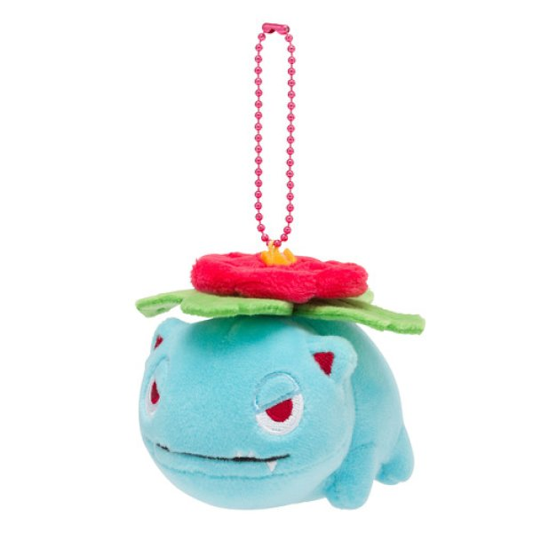 Photo1: Pokemon Center 2019 POKEMON DOLLS Plush Mascot Key Chain Venusaur (1)