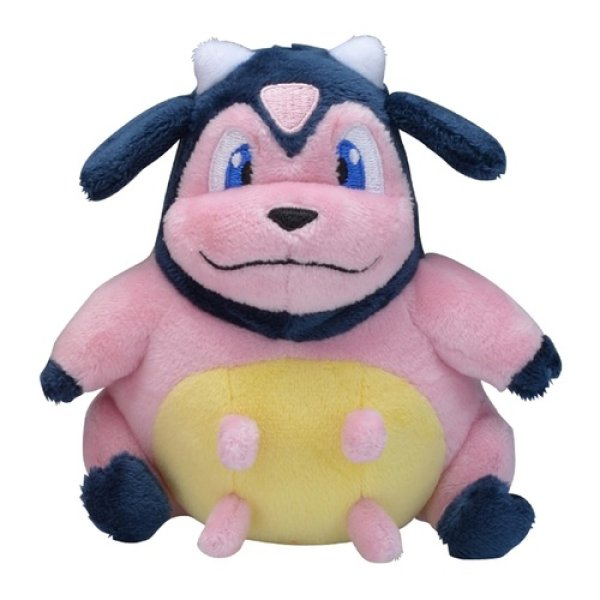 Photo1: Pokemon Center 2019 Pokemon fit Mini Plush #241 Miltank doll Toy (1)