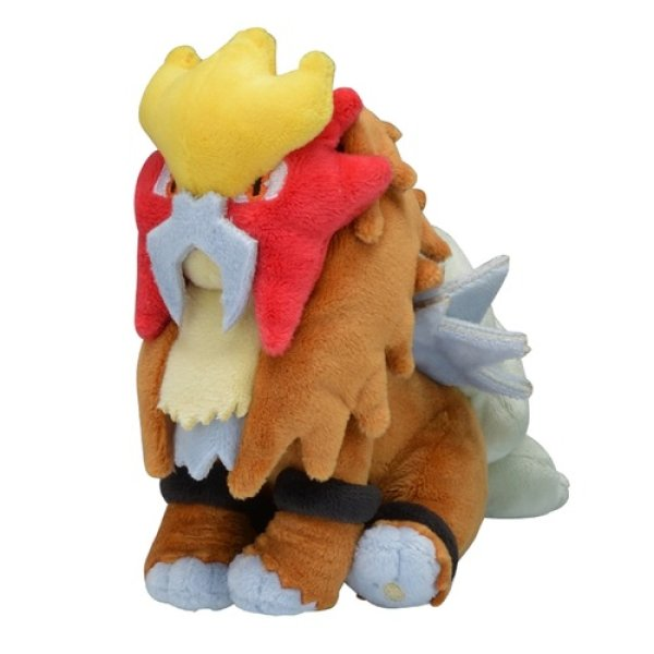 Photo1: Pokemon Center 2019 Pokemon fit Mini Plush #244 Entei doll Toy (1)