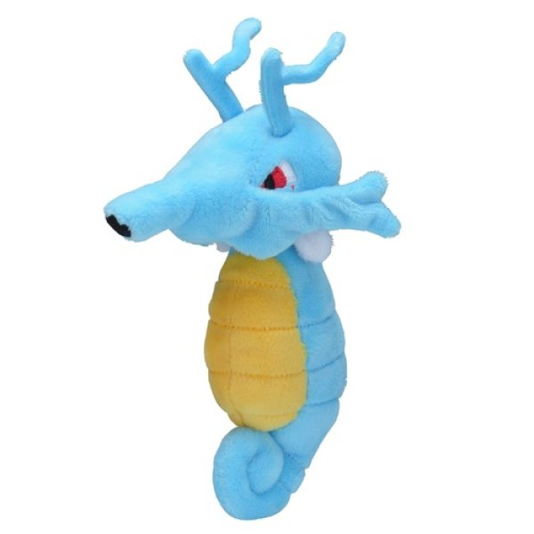 Photo1: Pokemon Center 2019 Pokemon fit Mini Plush #230 Kingdra doll Toy (1)