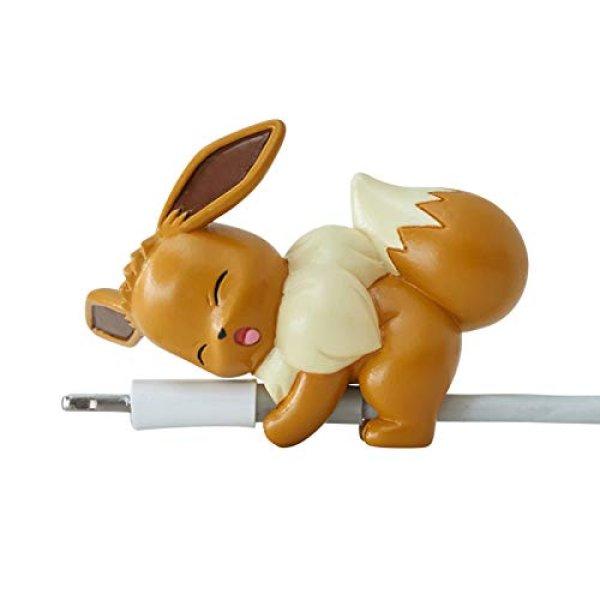Photo1: Pokemon 2019 Suyasuya on the cable vol.3 Cord Keeper Sleeping Eevee Mini Figure (1)