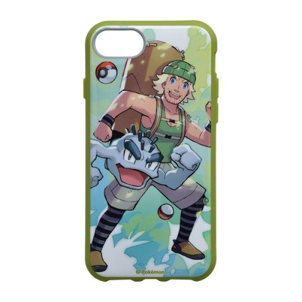 Photo1: Pokemon Center 2019 Pokemon Trainers IIIIfi+ for iPhone 8/7/6s/6 Jacket case Hiker Geodude (1)