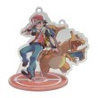Photo2: Pokemon Center 2019 Pokemon Trainers Acrylic Stand Key Chain Red Charizard (2)