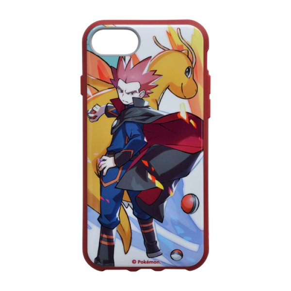 Photo1: Pokemon Center 2019 Pokemon Trainers IIIIfi+ for iPhone 8/7/6s/6 Jacket case Lance Dragonite (1)