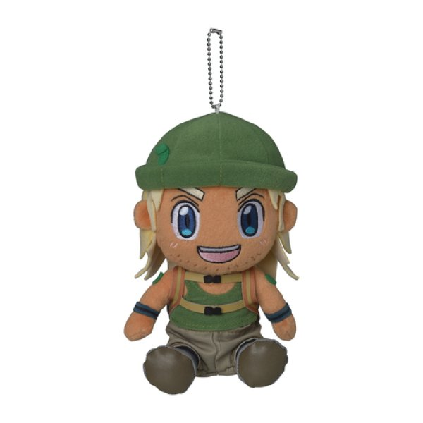 Photo1: Pokemon Center 2019 Successive Pokemon Trainers Plush doll chain Hiker (1)