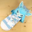 Photo2: Pokemon Center 2019 Plush Socks for Women 23 - 25 cm 1 Pair Glaceon (2)