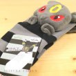 Photo3: Pokemon Center 2019 Plush Socks for Women 23 - 25 cm 1 Pair Umbreon (3)