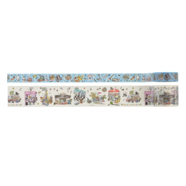Photo1: Pokemon Center 2019 Pokemon World Market Sticky Paper Masking Tape (1)