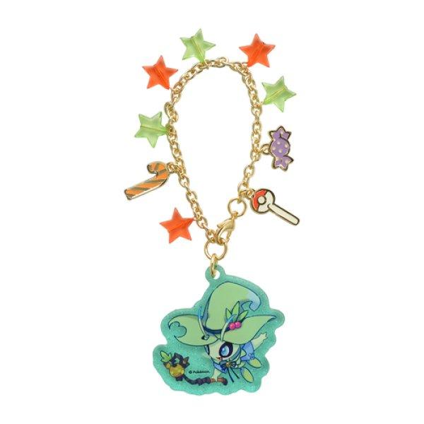 Photo1: Pokemon Center 2019 Halloween Festival Acrylic charm key chain Celebi (1)