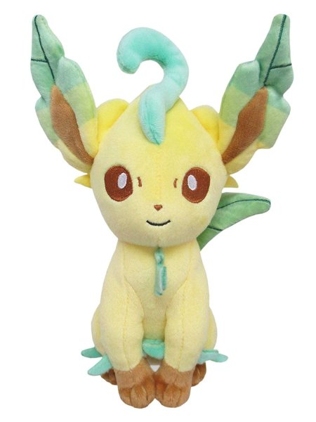Photo1: Pokemon 2019 ALL STAR COLLECTION Leafeon Plush Toy SAN-EI (1)