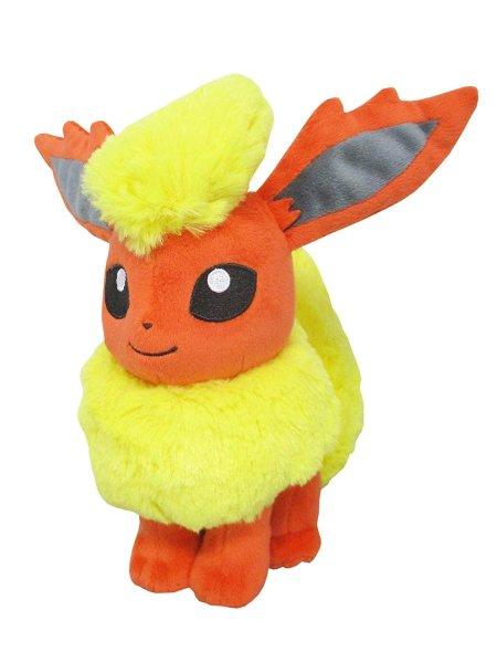 Photo1: Pokemon 2018 ALL STAR COLLECTION Flareon Plush Toy SAN-EI (1)