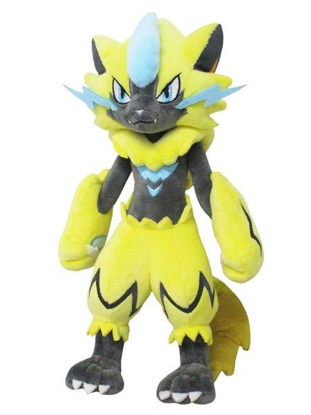 Photo1: Pokemon 2019 ALL STAR COLLECTION Zeraora Plush Toy SAN-EI (1)