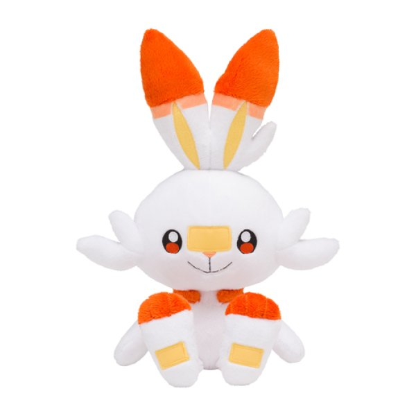 Photo1: Pokemon Center 2019 Plush doll Scorbunny (1)