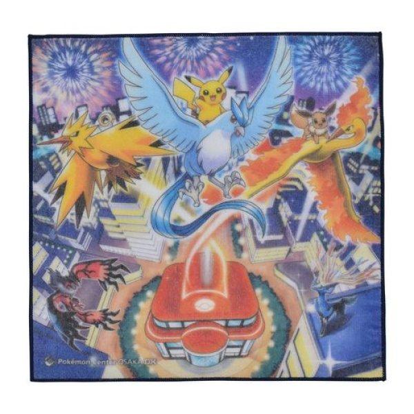 Photo1: Pokemon Center 2019 OSAKA DX Hand towel Handkerchief (1)
