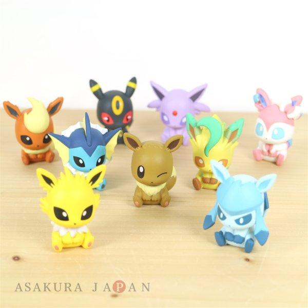 Photo1: Pokemon 2019 BANDAI FIGURE x CLIP Figulip vol.2 Complete set of 9 Mini Figures (1)