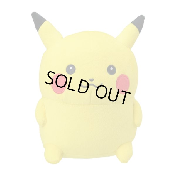 Photo1: Pokemon Center 2019 24 Hours Pokemon CHU Plush doll Pikachu (1)