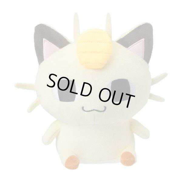 Photo1: Pokemon Center 2019 24 Hours Pokemon CHU Plush doll Meowth (1)