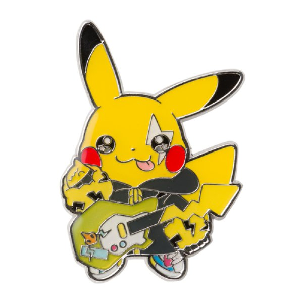 Photo1: Pokemon Center 2019 POKEMON BAND FES Pin Badge Pins Pikachu (1)