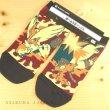 Photo2: Pokemon Center 2019 POKEMON BAND FES Socks for Women 23 - 25 cm 1 Pair Fire (2)