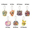 Photo2: Pokemon Center 2019 POKEMON BAND FES Hologram Acrylic Charm Key chain #6 Grass (2)
